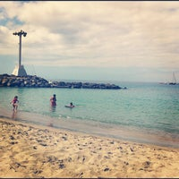 Photo taken at Las Vistas Beach by Sveta P. on 7/29/2012