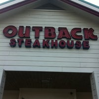 Photo taken at Outback Steakhouse by Tony D. on 4/7/2012
