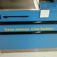 Photo taken at Walmart Supercenter by Linda M. on 4/1/2012