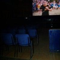 "Photo taken at Кинотеатр ""Мир"" by Екатерина Б. on 6/19/2012"