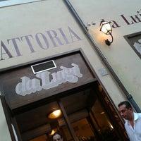 Photo taken at Trattoria da Luigi by p1nox on 8/16/2012