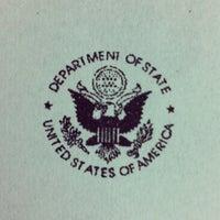 Photo taken at Consulado Geral dos Estados Unidos da América by Thiago R. on 4/26/2012