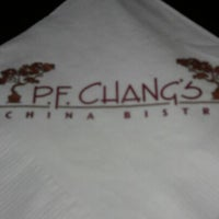 Photo taken at P.F. Chang's by Kevin A. on 8/29/2012