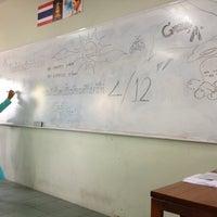 Photo taken at Streesmutprakan School by Mangao M. on 8/19/2012