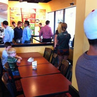 Photo taken at Moe's Southwest Grill by Chris C. on 8/13/2012