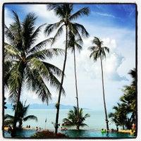 Photo taken at Anantara Bophut  Resort And Spa by Anis on 4/12/2012