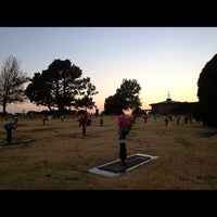 Photo taken at Resurrection Cemetery by Chinh D. on 8/19/2012