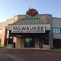 Photo taken at Milwaukee Harley-Davidson by Steve P. on 9/6/2012