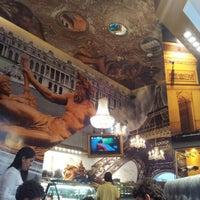 Photo taken at Le Café De París by Oscar D. on 5/12/2012