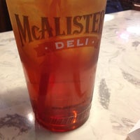 Photo taken at McAlister's Deli by Gigi S. on 8/25/2012