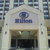 Photo taken at Hilton Hasbrouck Heights/Meadowlands by Moises P. on 6/8/2012