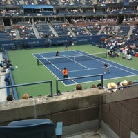 Photo taken at US Open Tennis Championships by Theresa on 9/6/2012