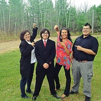 Photo taken at Elsipogtog First Nation Church by Savvy S. on 5/15/2012