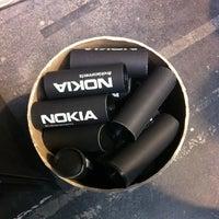 Photo taken at Nokia Gift Machine @ App Campus – Disrupt San Fran by Monica Z. on 5/4/2012