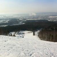 Снимок сделан в ГЛК Гора Волчиха пользователем Серега Л. 2/19/2012