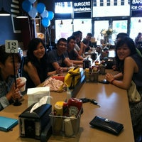 Photo taken at Bucu Burger Bar & Bakery by Priscilla K. on 6/10/2012