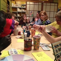 Photo taken at Paint Yourself Silly by Allison S. on 2/4/2012