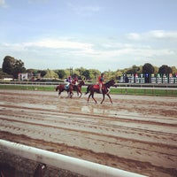 Photo taken at Saratoga Race Course by Crystal K. on 8/11/2012