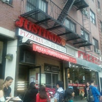 Photo taken at Justino's Pizzeria by Natalie M. on 9/5/2012
