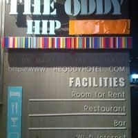 Photo taken at The Oddy Hip Hotel by Orangez J. on 4/28/2012