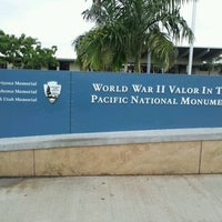 Photo taken at World War II Valor in the Pacific National Monument by Heather D. on 2/6/2012