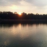 Photo taken at Sankey Tank by Ashwin M. on 5/9/2012