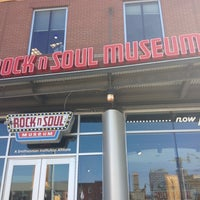 Photo taken at Rock'n'Soul Museum by Charles W. on 6/5/2012