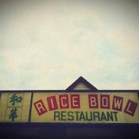 Photo taken at Rice Bowl by Robb M. on 9/9/2012