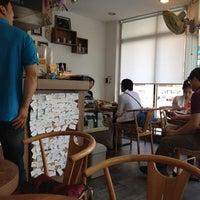 Photo taken at 커피가 by yk c. on 6/17/2012
