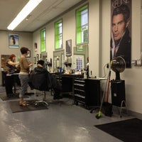 Photo taken at Fusion Salon by Christine S. on 5/26/2012