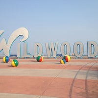 "Photo taken at ""Wildwoods"" Sign by Peter C. on 8/17/2012"