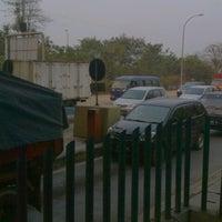 Photo taken at Gerbang Tol Cikarang Barat 1 by Adnan C. on 9/5/2012