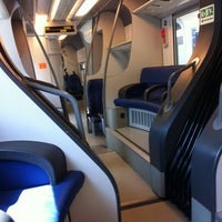 Photo taken at Treno Regionale 5982 Udine - Carnia by Angelo S. on 4/27/2012