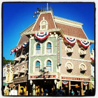 Photo taken at Main Street, U.S.A. by Gabi T. on 7/20/2012