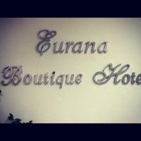 Photo taken at Eurana Boutique Hotel by Ti KohKea on 5/21/2012