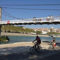 Photo taken at Berges du Rhône by Sandrine E. on 9/9/2012