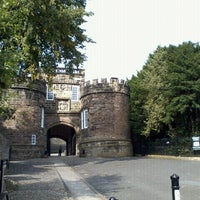 Photo taken at Skipton Castle by Alex A. on 9/9/2012