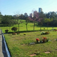Photo taken at Cemitério do Morumby by Kazu Y. on 8/12/2012
