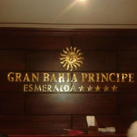 Photo taken at Luxury Bahia Principe Esmeralda Don Pablo Collection by Roberto N. on 3/2/2012