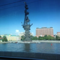 Photo taken at Moskva River by Rich L. on 5/16/2012