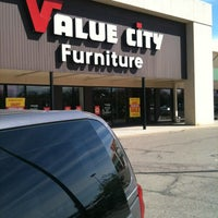 Photo taken at Value City by Willie M. on 4/4/2012