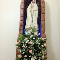 Photo taken at Paróquia Nossa Senhora de Fátima by Jefferson M. on 5/13/2012