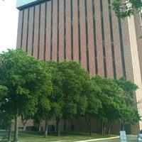 Photo taken at TWU - CFO (Classroom Faculty Office Building) by Technospunky on 5/24/2012