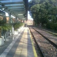 Photo taken at Estación Córdoba [Línea Tranvía del Este - Celeris] by Mariana D. on 7/28/2012