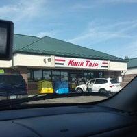 Photo taken at Kwik Trip #407 by Benjamin S. on 8/11/2012