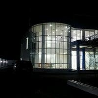 Photo taken at Bank Sumsel Babel Capem Koba by Oki Bayu Perkasa on 6/8/2012