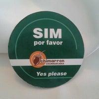 Photo taken at Chimarron by Rodrigo M. on 6/11/2012