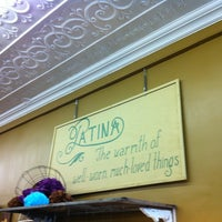 Photo taken at Patina by Aleathea C. on 3/23/2012