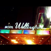 Photo taken at Wellington Hotel by Matthew S. on 3/1/2012