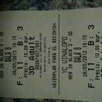 Photo taken at Yelmo Cines Vinalopo 3D by Estela M. on 5/26/2012
